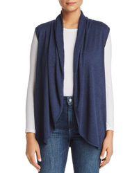 B Collection By Bobeau - Kori Shawl-collar Knit Vest - Lyst
