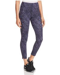 Lyssé - Mini Ikat-print Cropped Leggings - Lyst