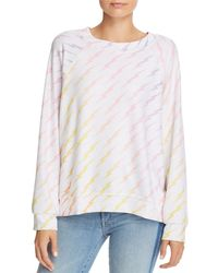 Wildfox - Ombré Lightning Bolt Sweatshirt - Lyst