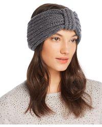 Rosie Sugden - Knit Cashmere Headband - Lyst