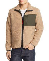 Wesc - Moritz Fleece Jacket - Lyst