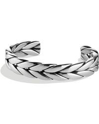 David Yurman - Chevron Cuff - Lyst