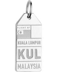 Jet Set Candy - Kul Kuala Lampur Malaysia Luggage Tag Charm - Lyst