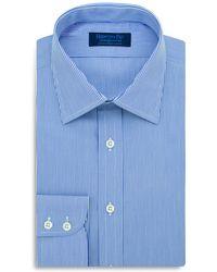 Hilditch & Key - Fine Stripe Regular Fit Dress Shirt - Lyst