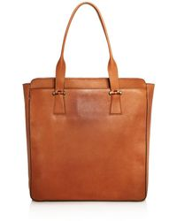 Cole Haan - Washington Grand North South Leather Tote - Lyst