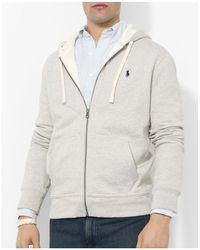 Polo Ralph Lauren | Full-zip Fleece Hoodie | Lyst