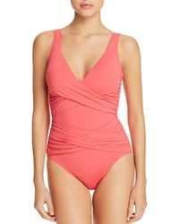 Tommy Bahama - Pearl Floating Underwire One Piece Swimsuit - Lyst