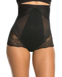 Spanx - Spotlight On Lace High-waisted Briefs - Lyst