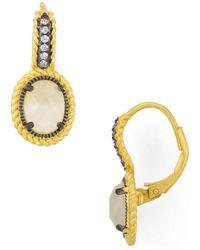Freida Rothman - Cova Leverback Earrings - Lyst