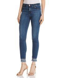 J Brand - 835 Crop Skinny Jeans In Hewes - Lyst