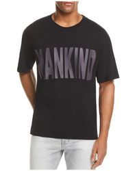 7 For All Mankind - Hd Oversized Logo Tee - Lyst