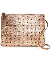 2ae02c29b0 Lyst - MCM  Galaxy Visetos - Small  Crossbody Bag in Pink