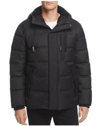 Andrew Marc - Groton Hooded Puffer Jacket - Lyst
