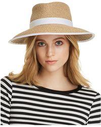 Eric Javits - Sun Crest Packable Hat - Lyst