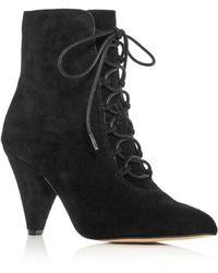 Kurt Geiger - Women's Pointed-toe High-heel Booties - Lyst