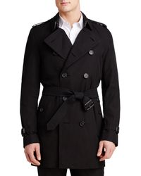 Burberry - Heritage Kensington Mid-length Trench Coat - Lyst