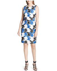 CALVIN KLEIN 205W39NYC - Floral Lace Sheath Dress - Lyst