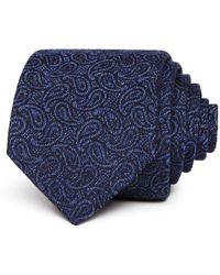 John Varvatos - Tonal Paisley Silk Classic Tie - Lyst
