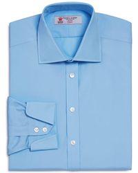 Turnbull & Asser | Solid Regular Fit Dress Shirt | Lyst