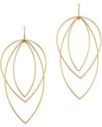 Moon & Meadow - Geometric Mobile Earrings In 14k Yellow Gold - Lyst
