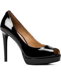 MICHAEL Michael Kors - Women's Erika Platform Peep Toe Pumps - Lyst