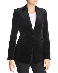 Theory - Tailored Velvet Blazer - Lyst