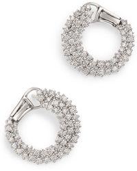 Bloomingdale's Diamond Statement Earring In 14k White Gold