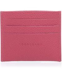 Longchamp   Le Foulonne Card Case   Lyst