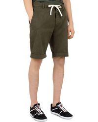The Kooples - Denim Drawstring Shorts - Lyst