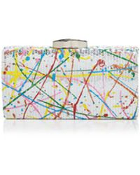 Sondra Roberts - Painted Sequin Clutch - Lyst