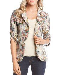 Karen Kane - Floral Tapestry Jacket - Lyst