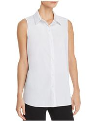Lyssé - June Sleeveless Shirt - Lyst
