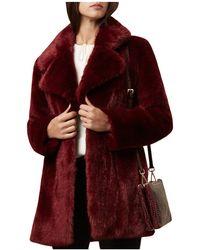 Hobbs - Bethany Faux-fur Coat - Lyst
