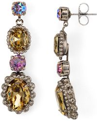 Sorrelli - Multi-stone Post Earrings - Lyst