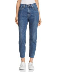Levi's - Cropped Mom Jeans In Moms The Word - Lyst