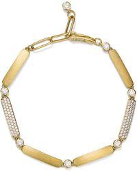Nadri - Solid Link Bracelet - Lyst