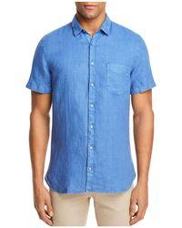 BOSS - Orange Cattitude Linen Button-down Shirt - Lyst