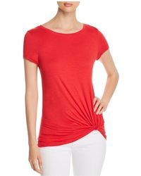 Marc New York - Performance Twisted Faux-knot Tee - Lyst