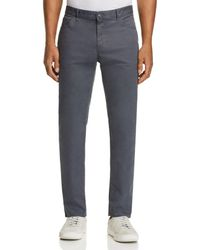 Michael Kors - Parker Five-pocket Stretch Straight Fit Pants - Lyst