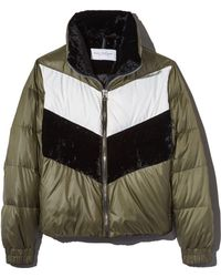 Marc New York - Bedford Chevron Puffer Coat - Lyst
