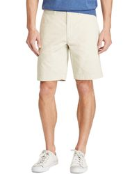 Polo Ralph Lauren - Stretch Cotton Classic Fit Chino Shorts - Lyst