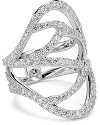 Nadri - Corsage Ring - Lyst