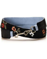 Maje Floral Handbag Strap Websites For Sale nhNL74Q