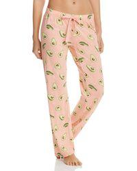 Pj Salvage - Avocado - Print Pyjama Trousers - Lyst