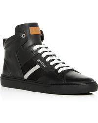 Bally - Men's Hedern Leather High - Top Sneakers - Lyst