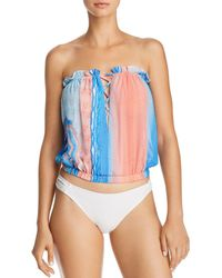 Ramy Brook - Printed Mika Top Swim Cover-up - Lyst