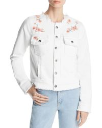 Billy T - Embroidered Denim Jacket - Lyst