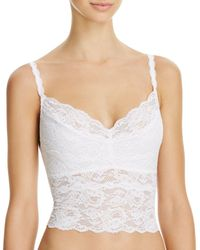 Cosabella - Never Say Never Cropped Lace Cami - Lyst