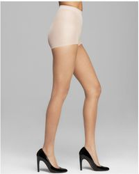 CALVIN KLEIN 205W39NYC - Ultra Bare Infinite Sheer Control Top Tights - Lyst