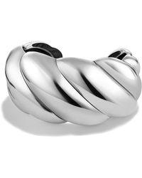David Yurman - Sculpted Cable Cuff Bracelet - Lyst